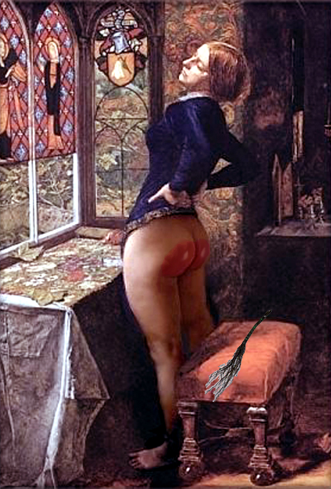 Clement recommend best of 1950s bottom bare spanking