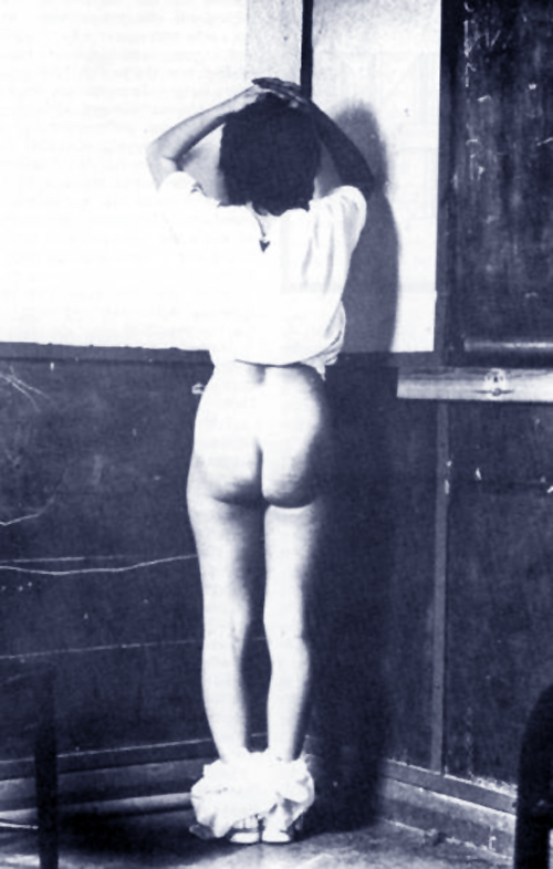 corner time before the spanking