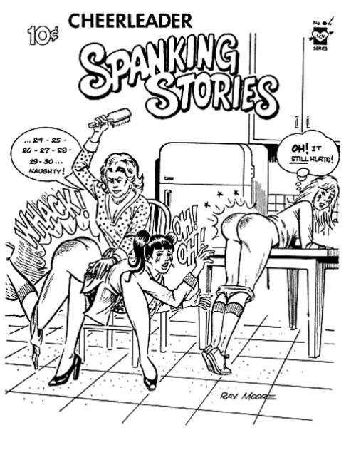 Cheer leader spanking
