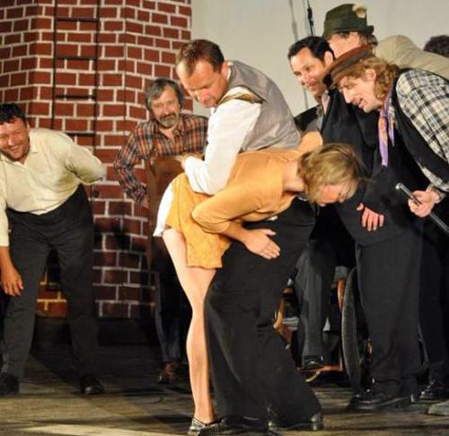 stage spankings