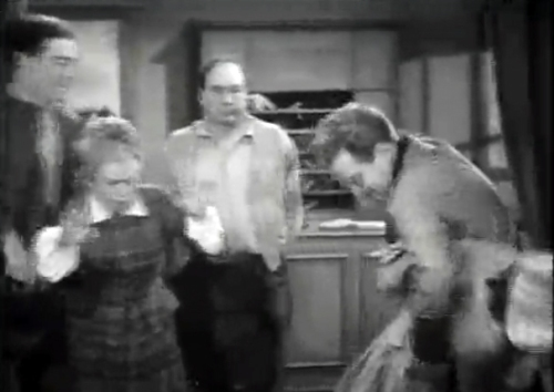 Linda Perry spanked in Land Beyond the Law 1937