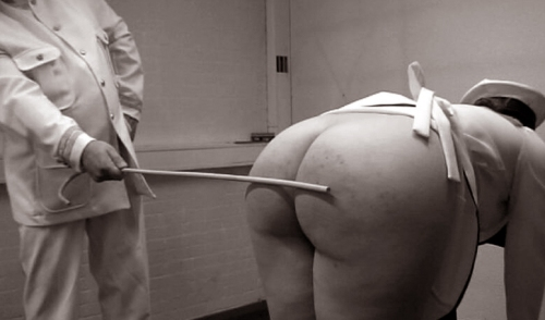 Russian cadet caned