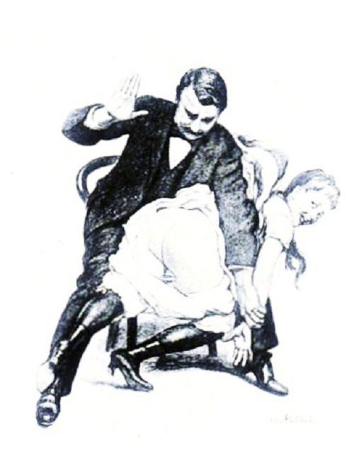 marital spanking 1911