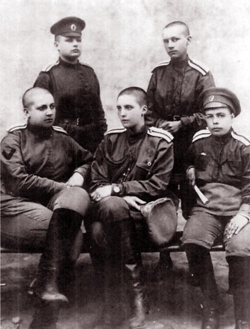 Soviet women cadets