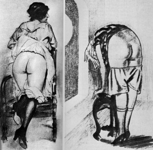 spanking oldie cartoon