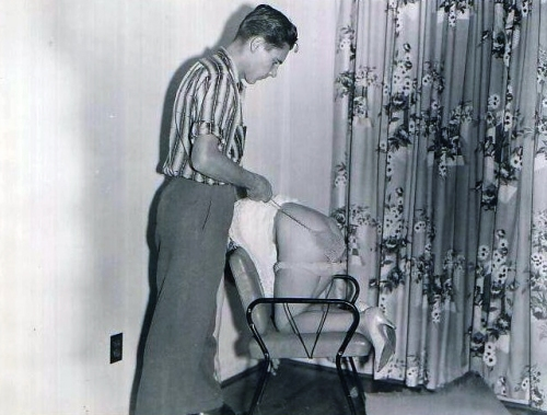1960s wife spanked