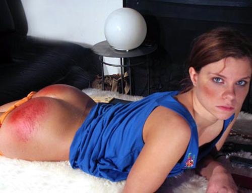 spanked niece