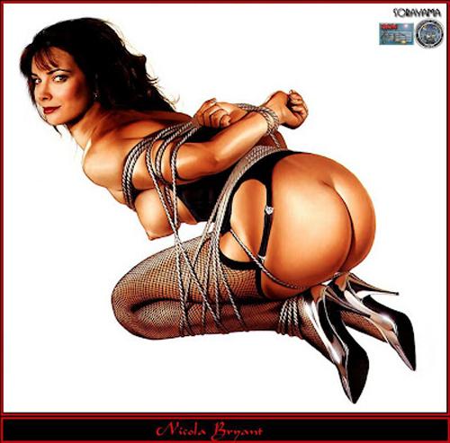 Xena thought to spank both girls