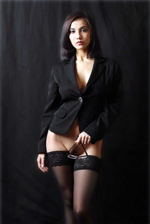 Office girl spanked
