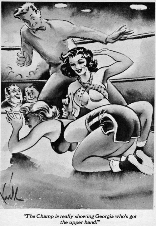 retro spanking