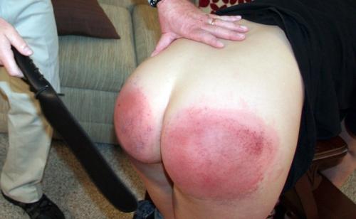 spanked cutie