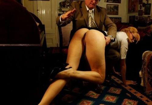 An OTK spanking