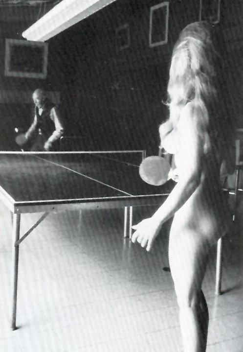 nude table tennis