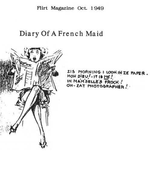 spanking the maid, Flirt 1949