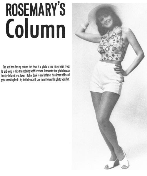 Rosemary's Column