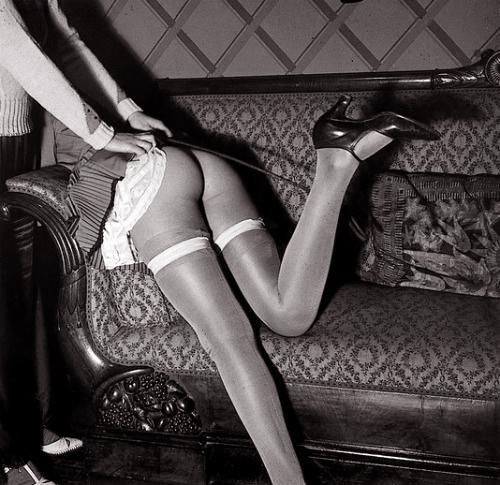1920s flapper spanked