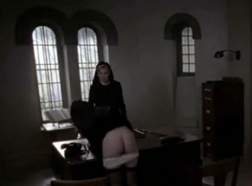 caned nun