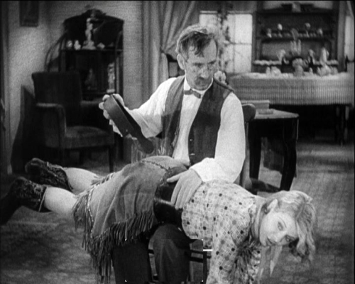 The Cowcatcher's Daughter spanking