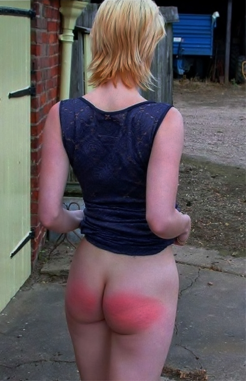 spanked on the farm