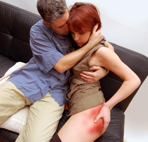 St Valentine's Day spanking