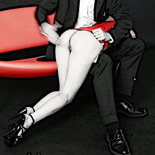 spanking OTK