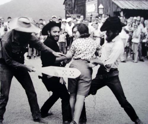rodeo spanking