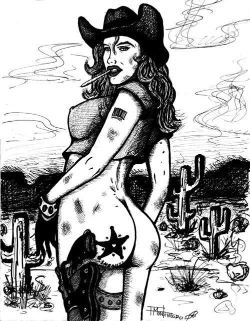 spanked heroines