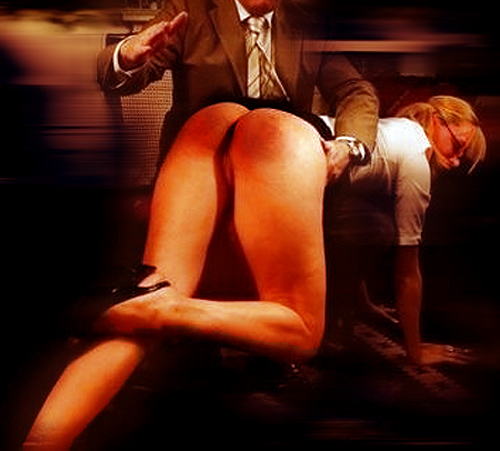 spanked OTK