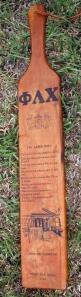 Phi Lamb Paddle 1968