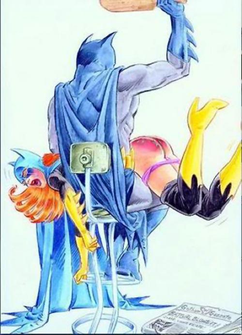 batman spanks bat girl
