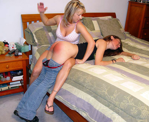 spanked by the landlady