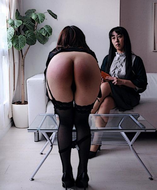 spanking in Japan