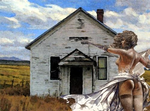 Prairie spanking