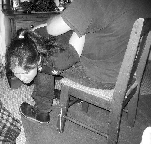 real otk spanking