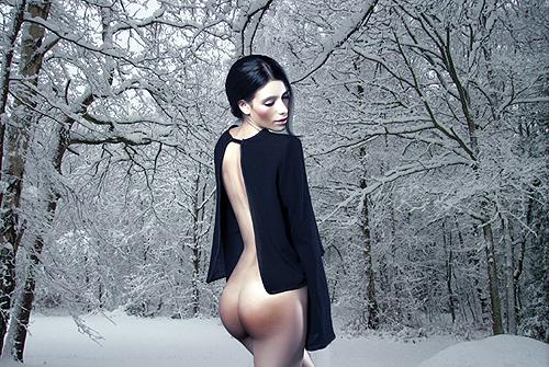 snowscape nude