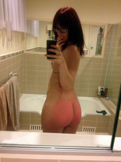 spanked