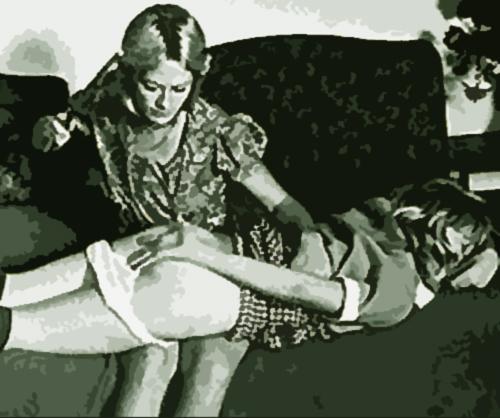 1950 OTK spanking