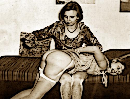 1950 spanking