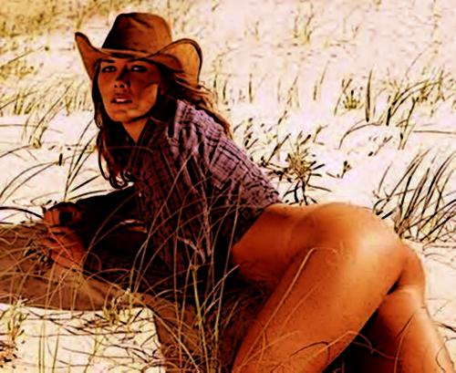 spanking cow girl