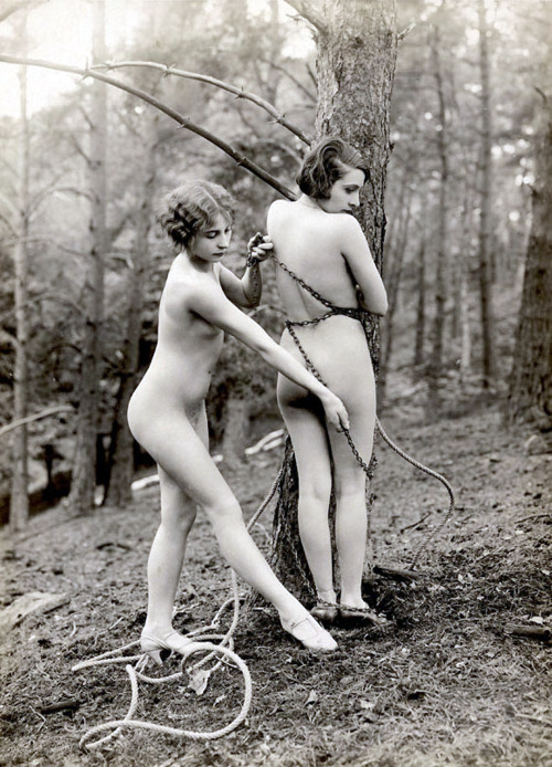 nude and spanked