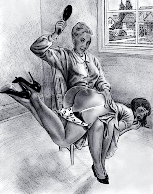 1950s otk spanking