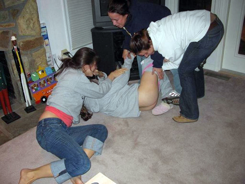 sorority spanking