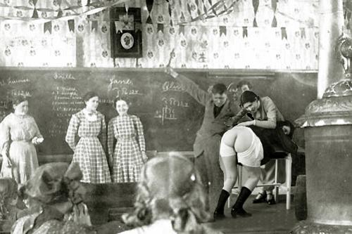 1900 schoolroom spanking