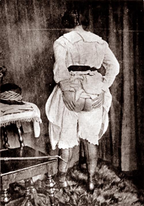 1905 spanked