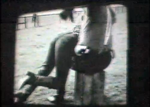 spoof John Wayne spanking