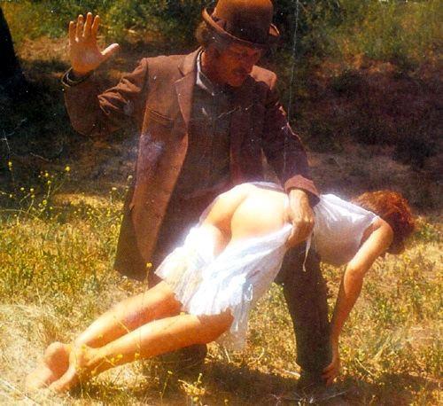 cowboy spanking