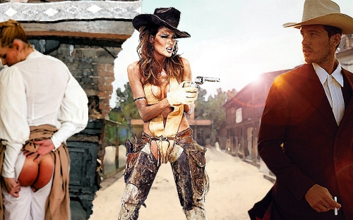 spanked cowgirl