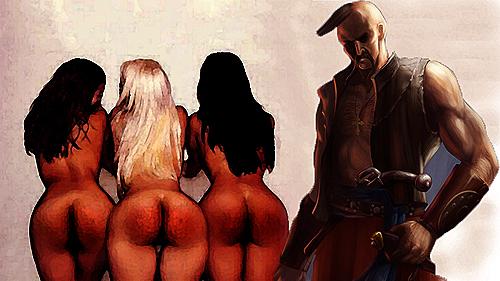 Cossack spanking