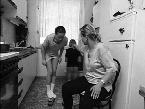 embarassment spanking