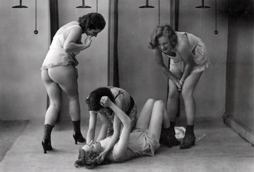 black spanking and ducking white